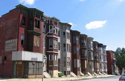 Vacant Houses in West Baltimore