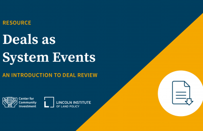 Resource: Deals as System Events: And Introduction to Deal Review
